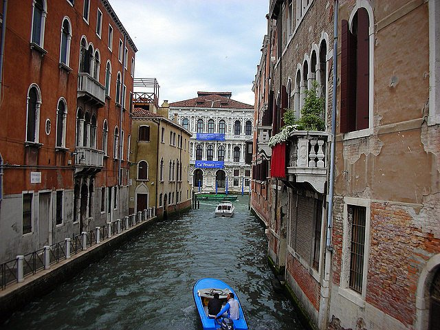 Experiencing Venice Italy with Kids canal