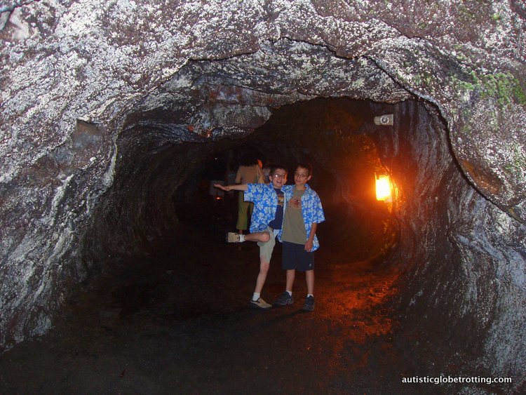 10 Best US National Parks for Kids with Autism tunnel