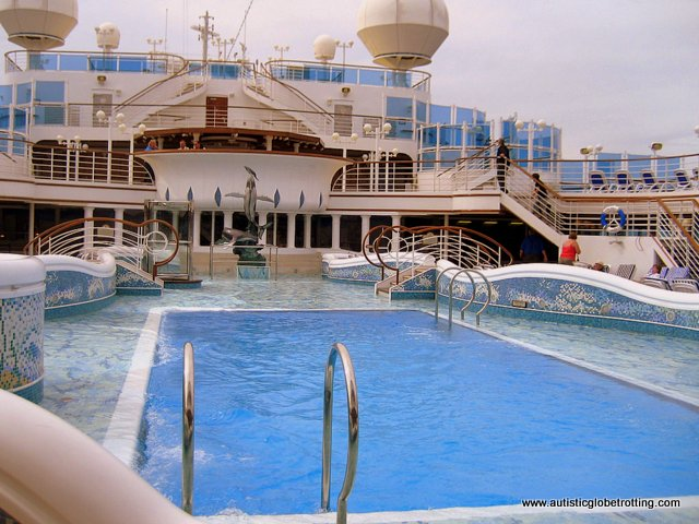 Eight Cruiseline Accommodations to Request When Traveling with Autism pool
