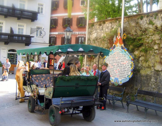 Favorite Family Spots for Exploring Salzburg, Austria carriage