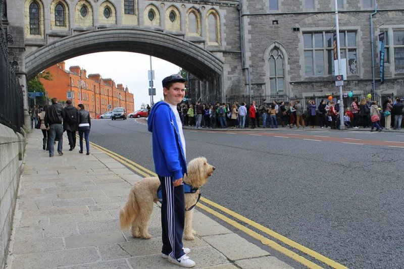Q&A with Clive -Ireland's Autism Service Dog Extraordinaire dublin