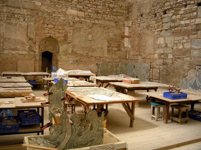 Taking Kids with Autism to Visit Ephesus table