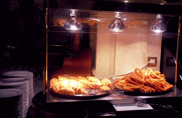 Review of the Westin Palace Madrid Spain buffet