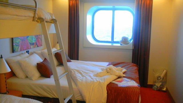 Family Cruise aboard the Carnival Magic porthole