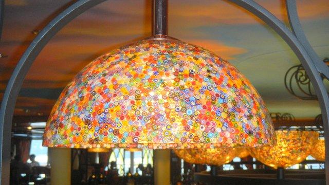 Family Cruise aboard the Carnival Magic lamps