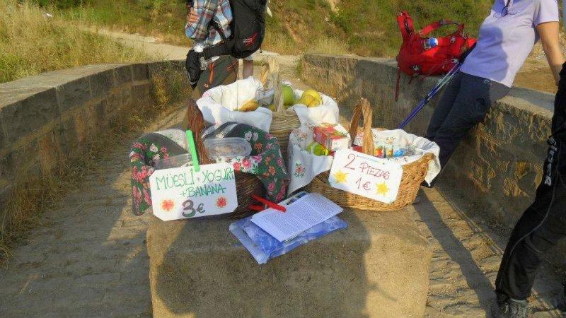 Trekking the Camino de Santiago de Compostela with Autism road snacks
