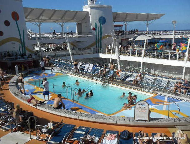Which Cruise to Book when Traveling with Autism adult pool