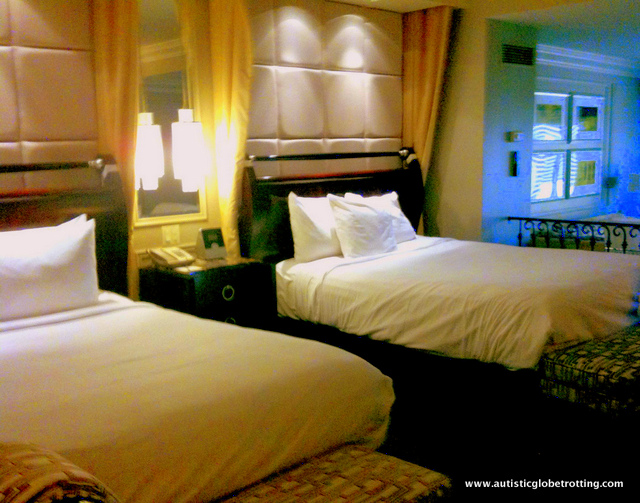 Our Stay at the Las Vegas Venetian Hotel room