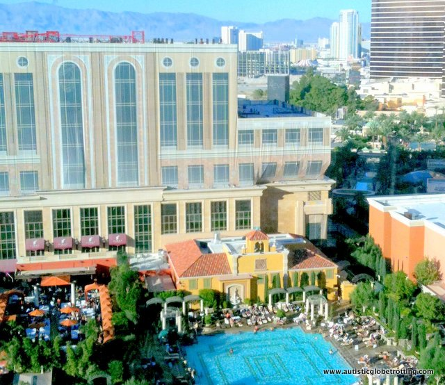 Our Stay at the Las Vegas Venetian Hotel pool
