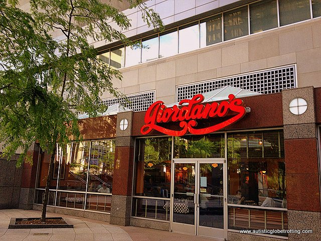 Eight Things to do in Chicago with Kids pizza