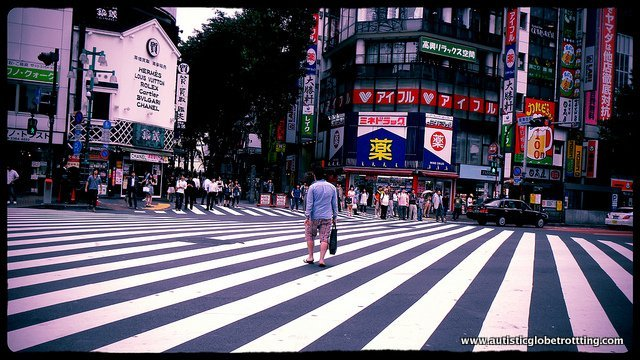 Ten Cultural Differences My Kid With Autism Learned from Traveling crosswalk