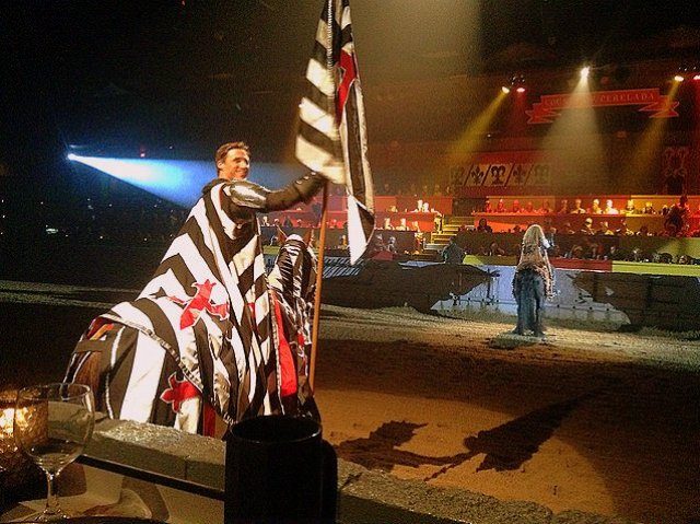 Taking Your Kid with Autism to Medieval Times knight