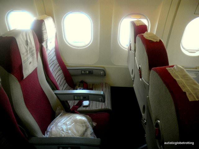 Why Fly with TAM Airlines seats
