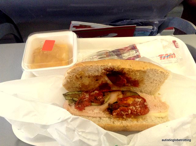 Why Fly with TAM Airlines food