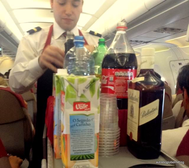 Why Fly with TAM Airlines drinks