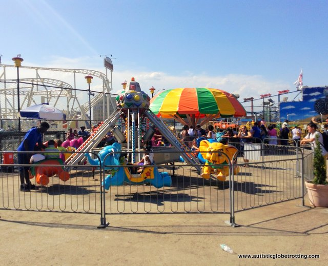 Family Fun on New York's Coney Island RIDES