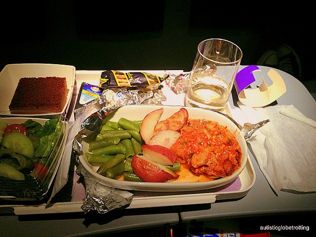 Nine Ways to Accommodate Kids with Autism while Flying food