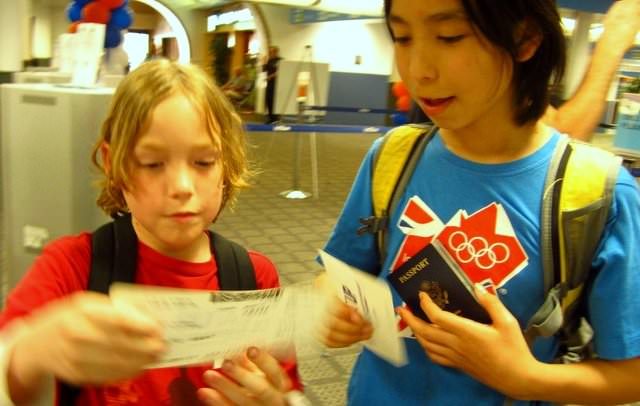 On the benefits of attending JetBlue's 'Wings for Autism'- boarding passes