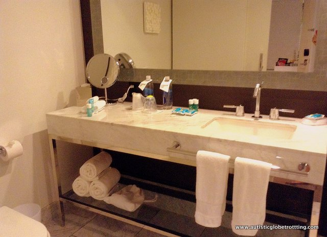 The Family-Friendly W Hollywood Hotel vanity