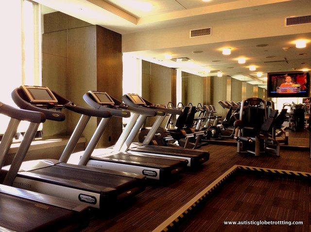 The Family-Friendly W Hollywood Hotel gym
