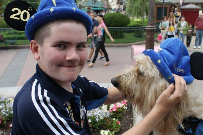 Q&A with Clive -Ireland's Autism Service Dog Extraordinaire disney paris