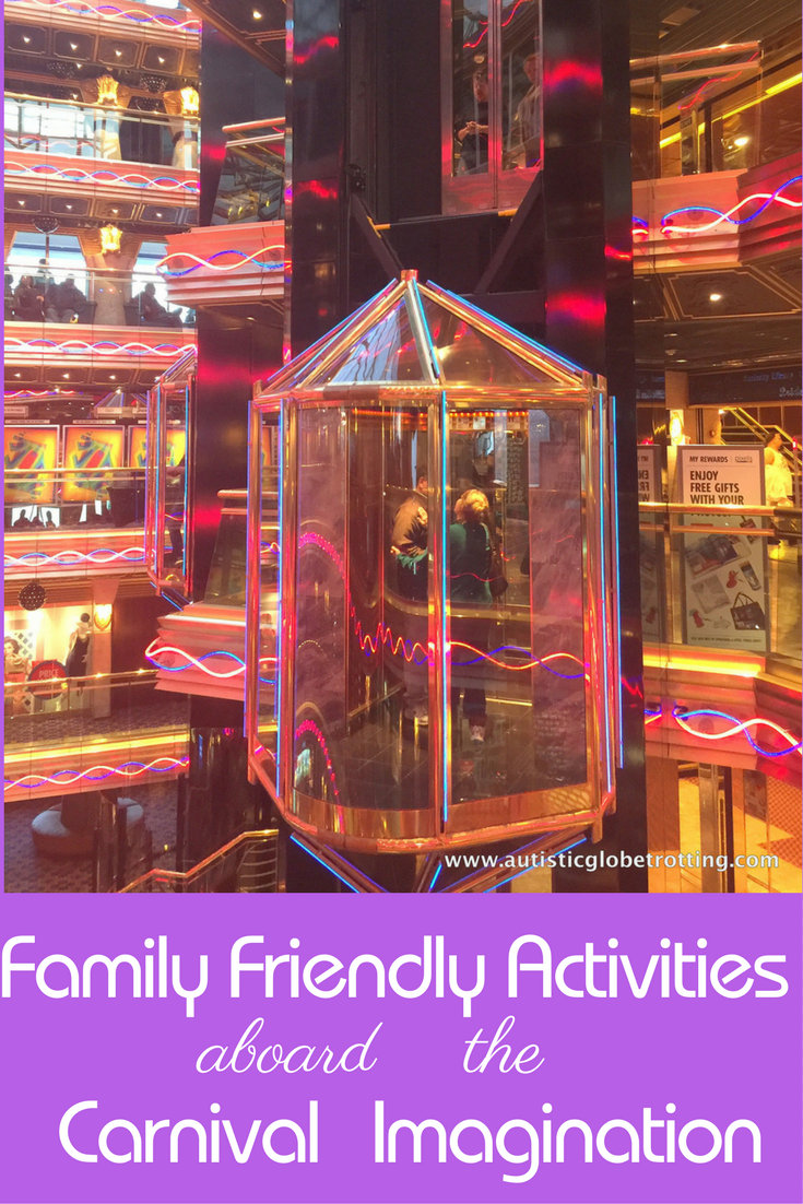 Family Friendly Activities Aboard the Carnival Imagination pin