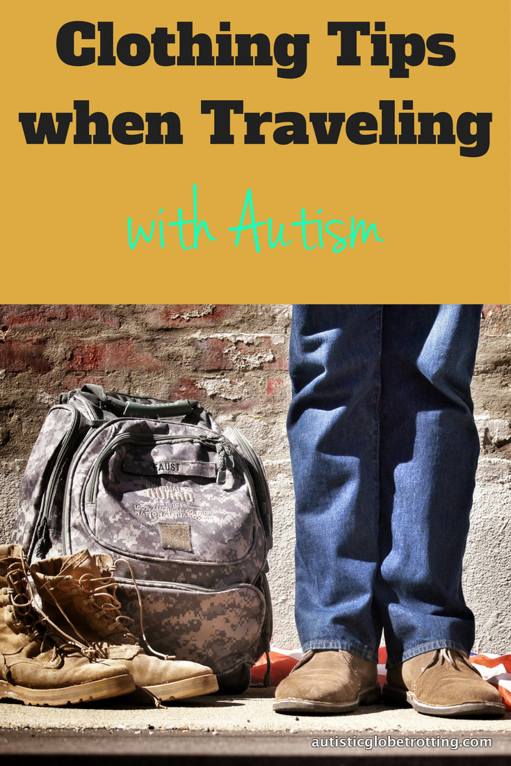 Clothing Tips when Traveling with Autism pin