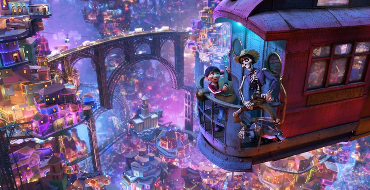 Review: Pixar's Coco Changes Perspective on Culture, Family and Death land of dead