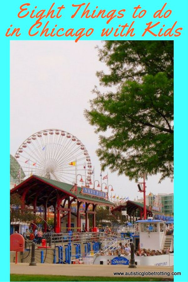 Eight Things to do in Chicago with Kids pin