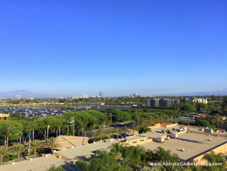 The Autism Friendly Sheraton Park at Anaheim Resort sky