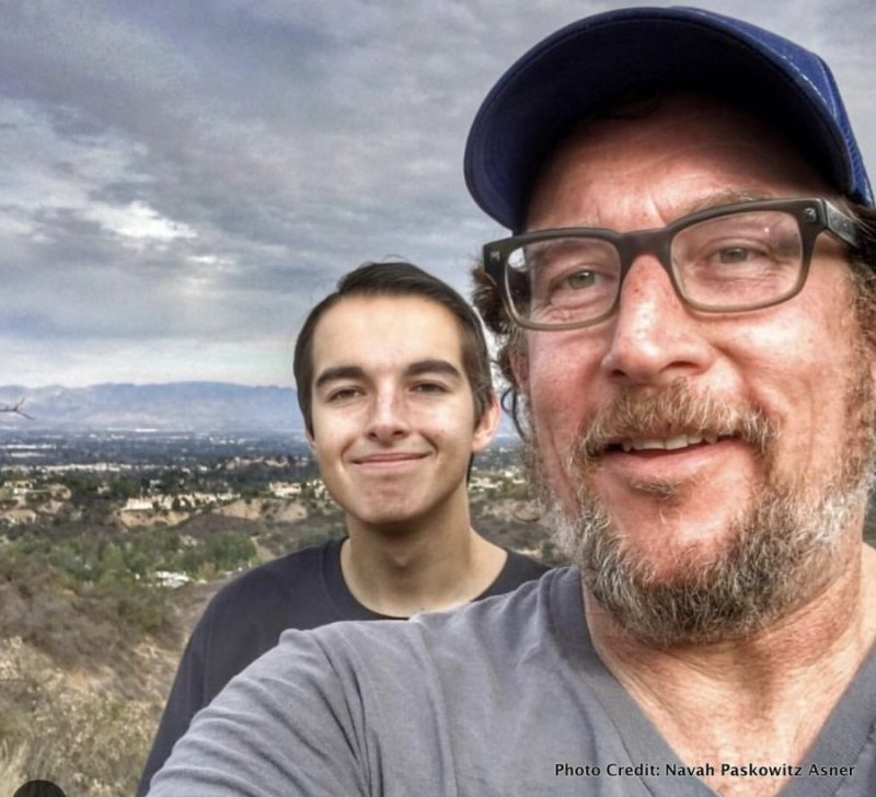 Navah Paskowitz Asner: Traveling with the Brady Bunch of Autism matt and son