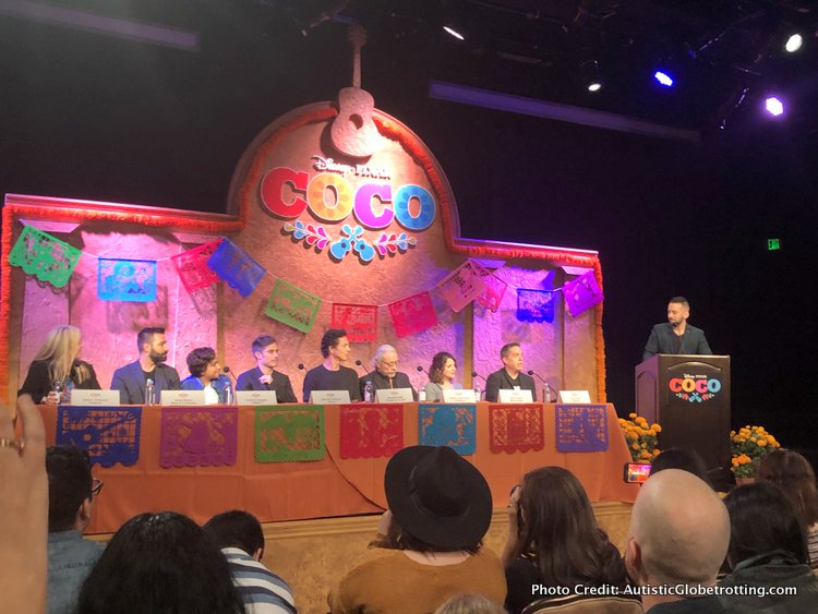 Pixar's Coco Press Junket highlights Mexico's Family Traditions press