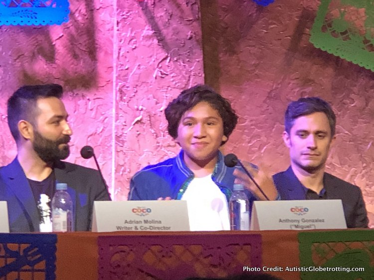 Pixar's Coco Press Junket highlights Mexico's Family Traditions voice of miguel