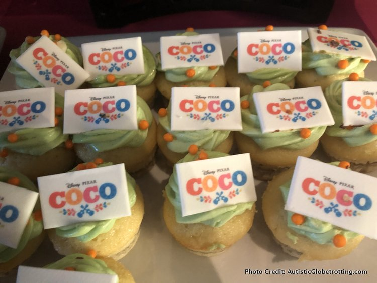 Pixar's Coco Press Junket highlights Mexico's Family Traditions white choclate