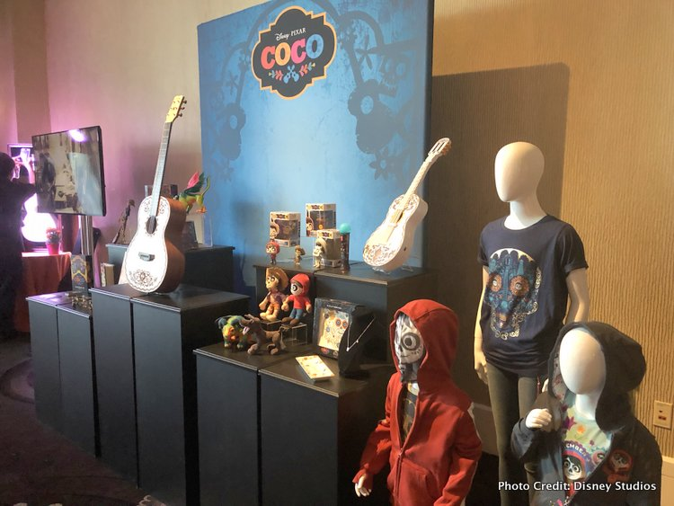 Pixar's Coco Press Junket highlights Mexico's Family Traditions coco goods