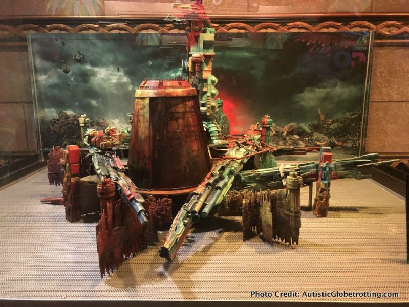Visiting Hollywood's iconic El Capitan Theatre with Kids display for movies