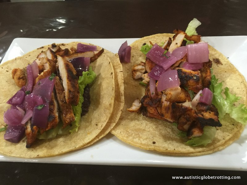 Yucatan Cuisine at Chichen Itza Restaurant ,Los Angeles chicken