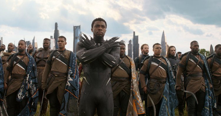 Avengers: 'Infinity War' Top Ten Parental Concerns Answered black panther and the gang fighting