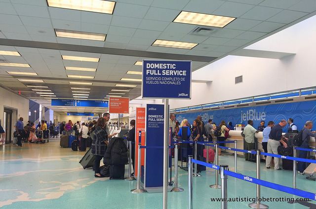 JetBlue Airline's Autism-Friendly Service Ticket Counter