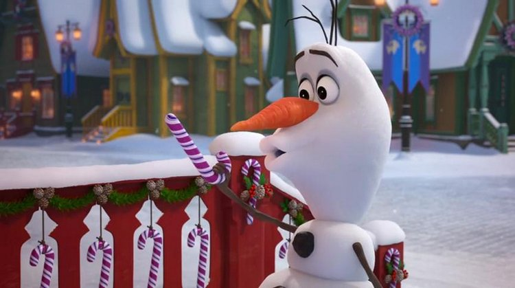 3 Magical Ways Olaf's Frozen Adventure will Melt your Hearts candy canes