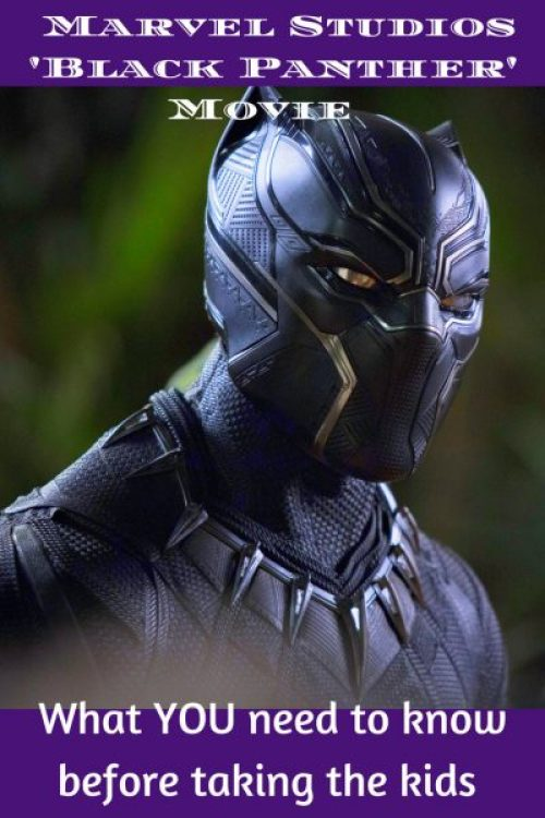 Marvel's 'Black Panther' Movie provides Kids with Thought Provoking Entertainment pin