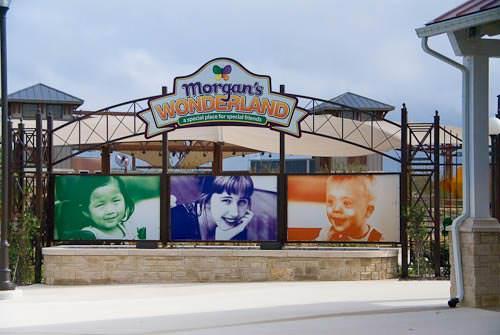 Morgan's Wonderland The World's First Inclusive Theme Park entrance