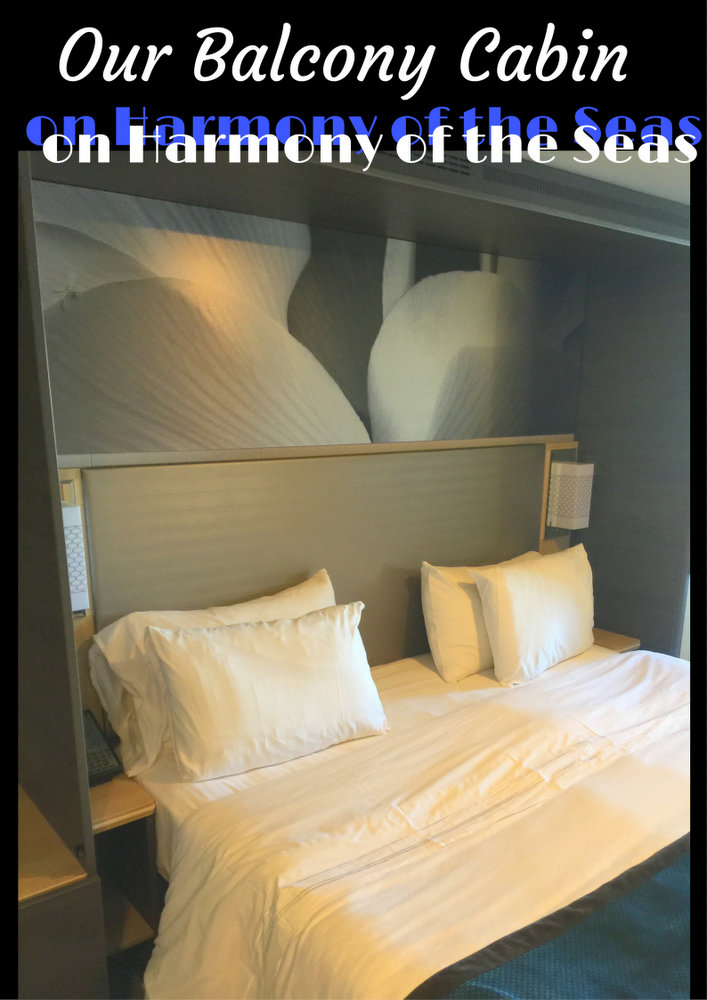 Our Balcony Cabin on Harmony of the Seas pin