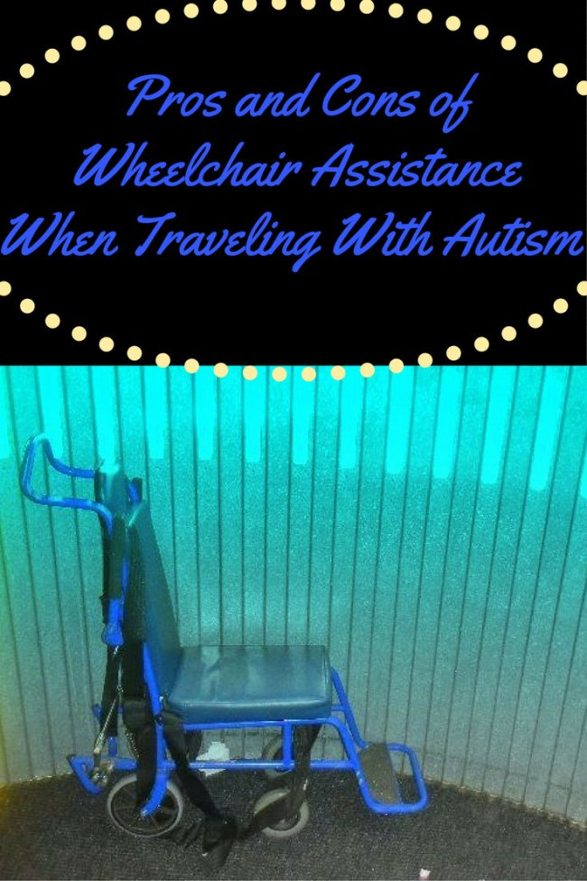 Pros and Cons of Wheelchair Assistance When Traveling With Autism