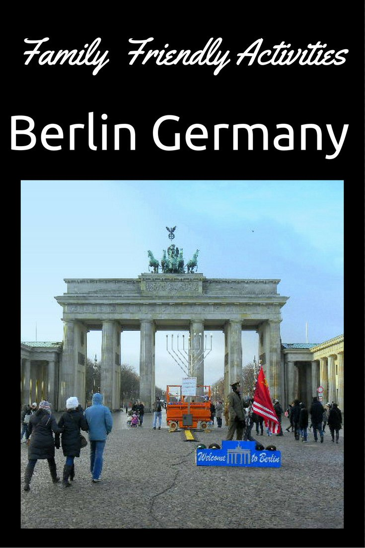 Family Friendly Activities in Berlin Germany pin