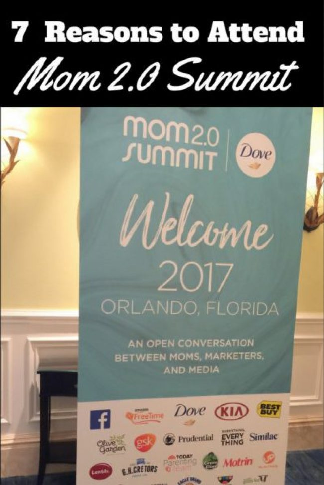 Seven Reasons to Attend the Mom 2.0 Summit pin