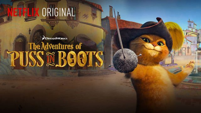 Top Netflix Summer Series for Kids with Autism puss in boots