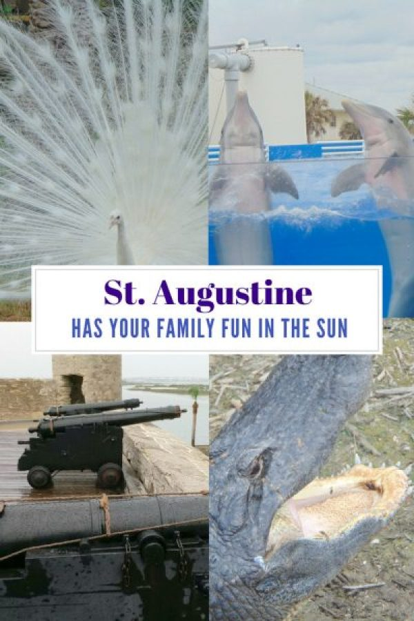 Florida St. Augustine Top Family Outdoor Attractions