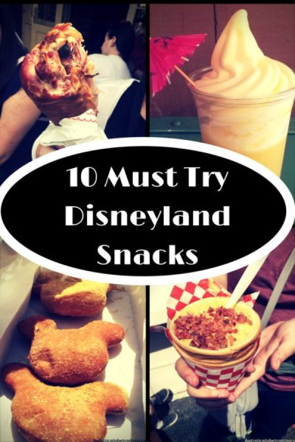 Ten Must Try Disneylanddisneyland Snacks pin for pot