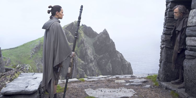 the last jedi was filmed on the remote coasts of ireland
